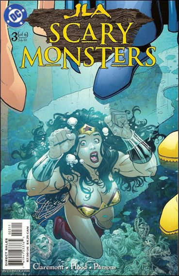 JLA: Scary Monsters 3-A by DC