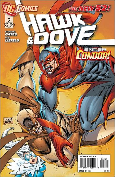 Hawk and Dove (2011) 2-A by DC
