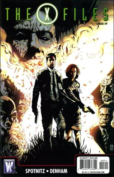 X-Files (2008) 3-A by WildStorm