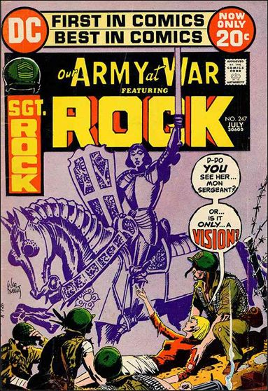 Our Army at War (1952) 247-A by DC
