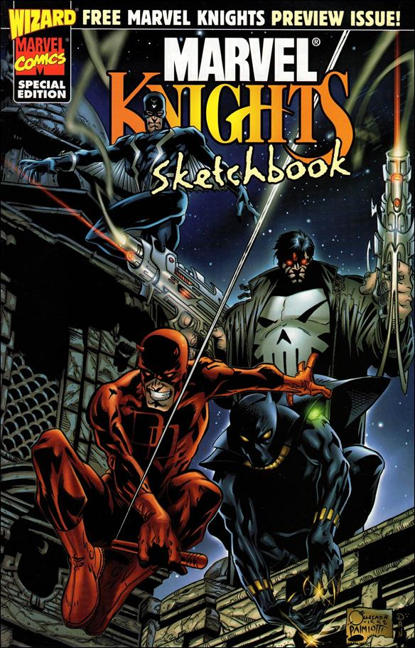 Marvel Knights Sketchbook 1-A by Marvel