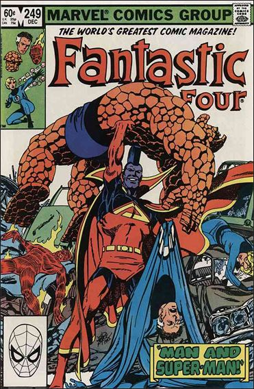 Fantastic Four (1961) 249-A by Marvel