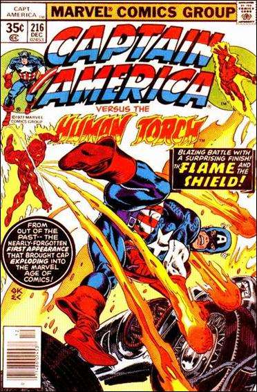 Captain America (1968) 216-A by Marvel