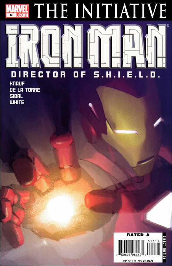 Invincible Iron Man (2005) 18-A by Marvel