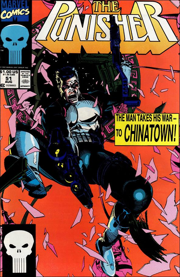 Punisher (1987) 51-A by Marvel
