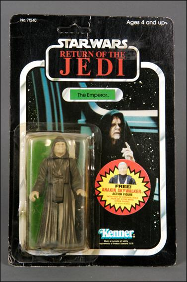 "Star Wars 3 3/4"" Basic Action Figures (Vintage) The Emperor (RotJ 79 Back) by Kenner"