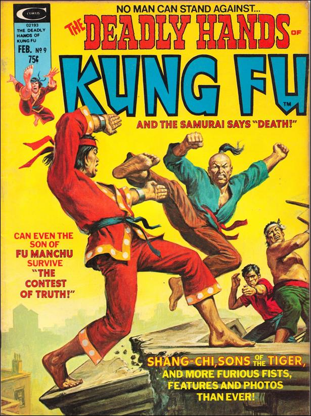 Deadly Hands of Kung Fu 9-A by Marvel