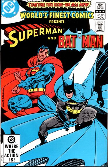 World's Finest Comics 285-A by DC