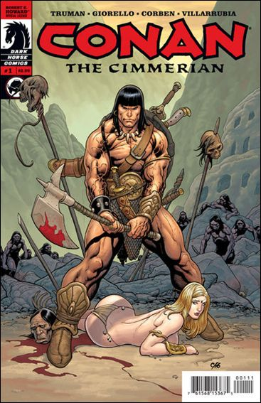 Conan the Cimmerian 1-A by Dark Horse