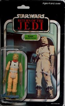 "Star Wars 3 3/4"" Basic Action Figures (Vintage) Bossk (Bounty Hunter) (RotJ) by Kenner"