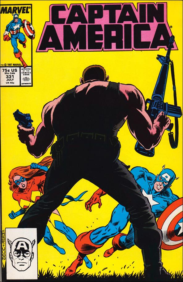 Captain America (1968) 331-A by Marvel
