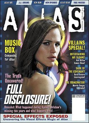 Alias: The Official Magazine 3-A