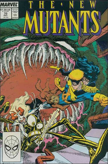 New Mutants (1983) 70-A by Marvel
