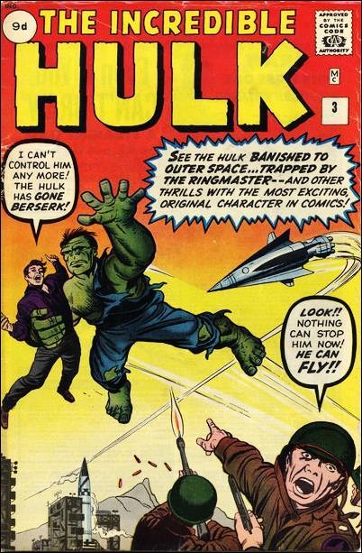 Incredible Hulk (1962) 3-B by Marvel