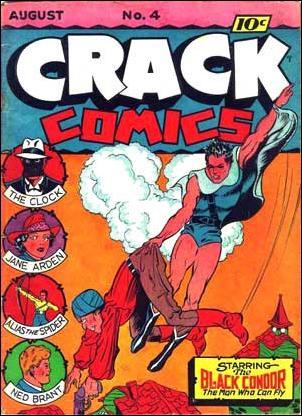 Crack Comics 4-A by Quality