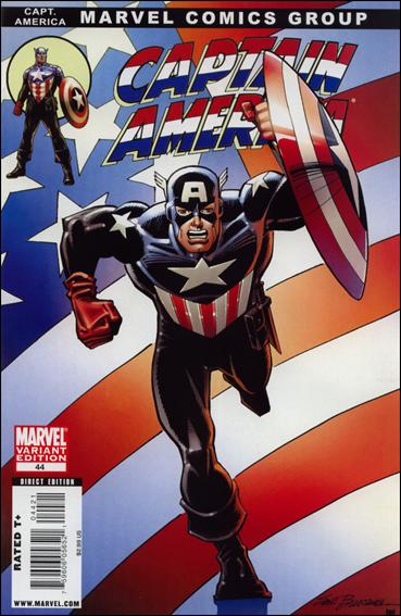 Captain America (2005) 44-B by Marvel