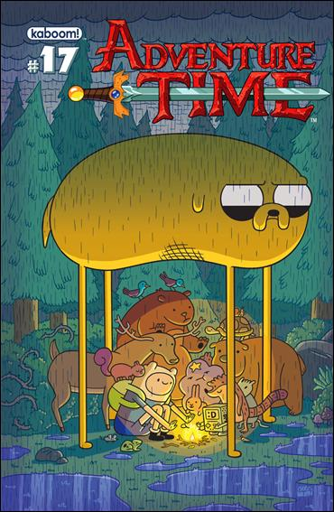 Adventure Time 17-A by Kaboom!