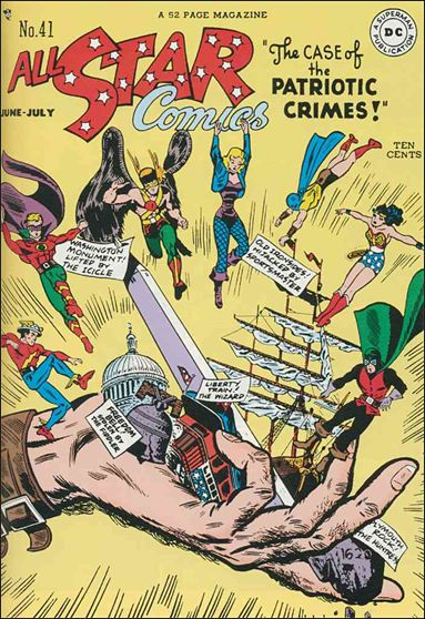 All Star Comics (1940) 41-A by DC
