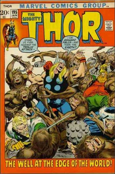 Thor (1966) 195-A by Marvel
