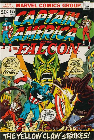 Captain America (1968) 165-A by Marvel