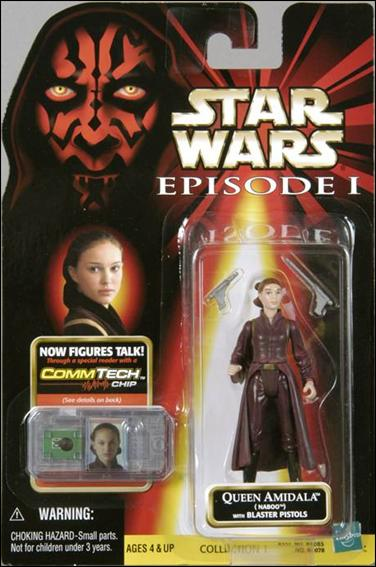 "Star Wars: Episode I 3 3/4"" Basic Action Figures Queen Amidala (Naboo) (No Logos) by Hasbro"