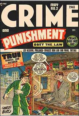 Crime and Punishment 2-A by Lev Gleason Productions