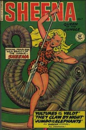 Sheena, Queen of the Jungle 7-A