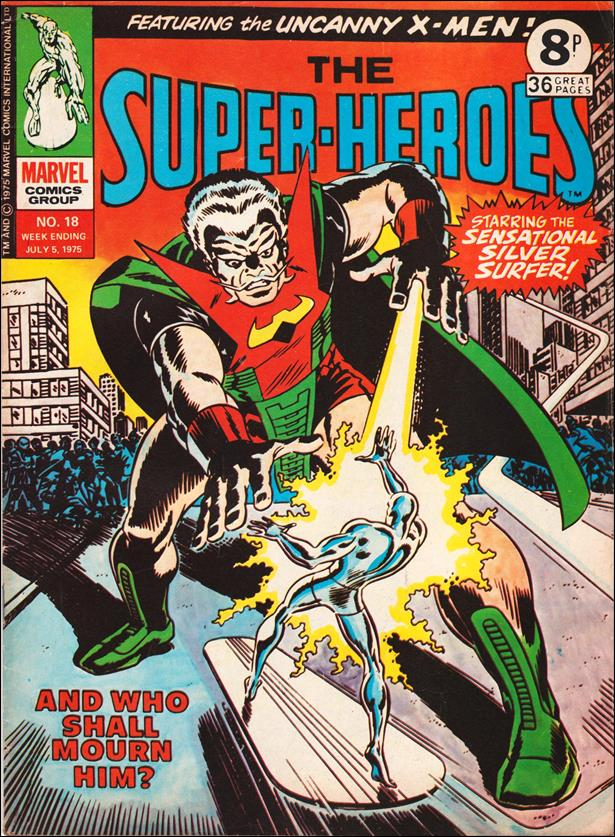 Super-Heroes (UK) 18-A by Marvel UK