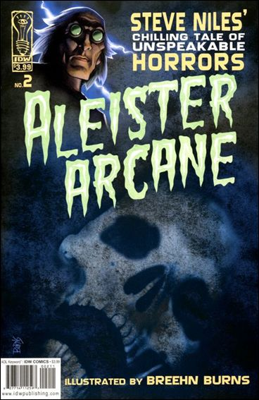 Aleister Arcane 2-A by IDW