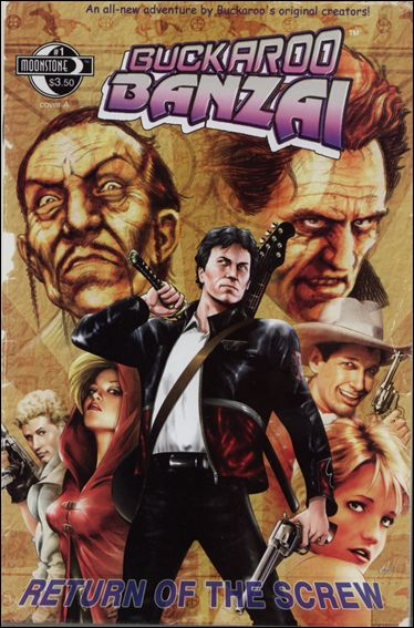 Buckaroo Banzai: Return of the Screw 1-A by Moonstone