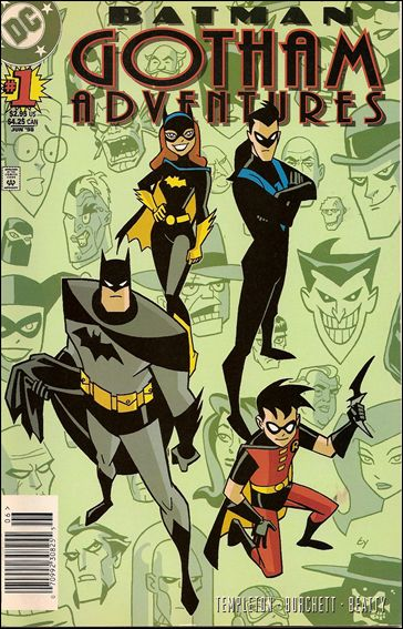 Batman: Gotham Adventures 1-A by DC