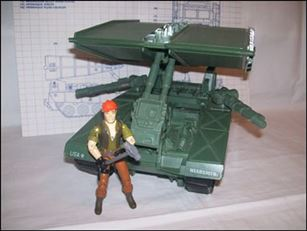 "G.I. Joe: A Real American Hero 3 3/4"" Basic Vehicles and Playsets Bridge Layer (Toss 'N Cross)"