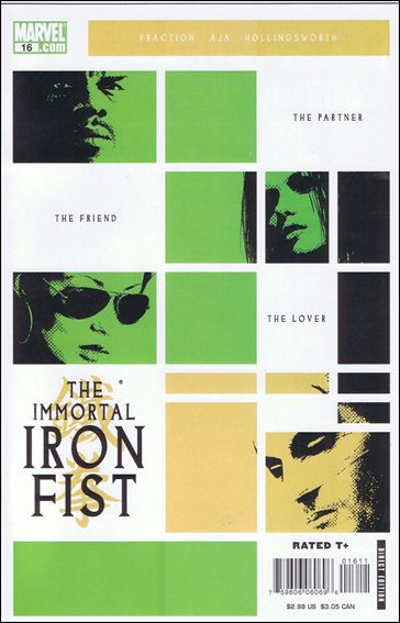 Immortal Iron Fist 16-A by Marvel