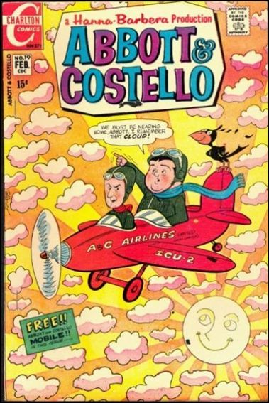 Abbott and Costello (1968) 19-A by Charlton
