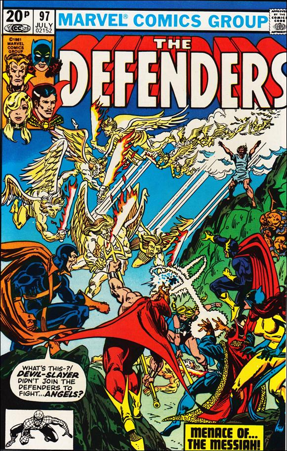 Defenders (1972) 97-B by Marvel