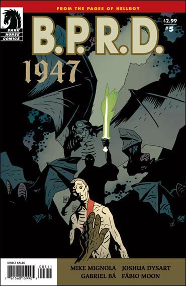 B.P.R.D.: 1947 5-A by Dark Horse