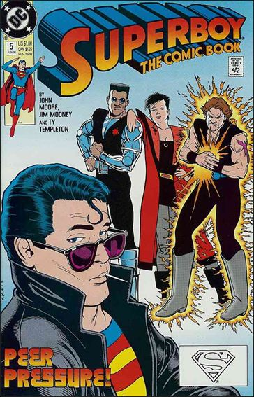 Superboy (1990) 5-A by DC