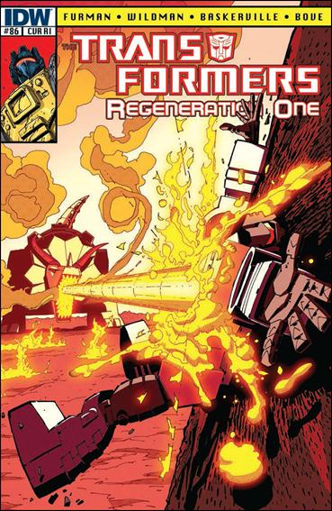 Transformers: Regeneration One 86-C by IDW