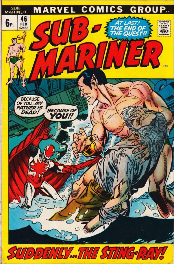 Sub-Mariner (1968) 46-B by Marvel