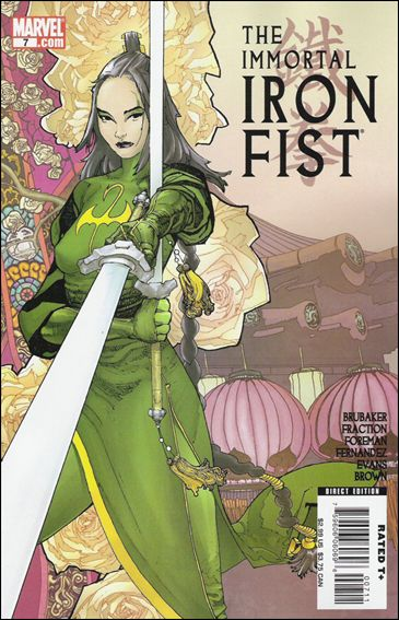 Immortal Iron Fist 7-A by Marvel