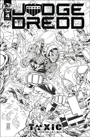 Judge Dredd: Toxic 4-C