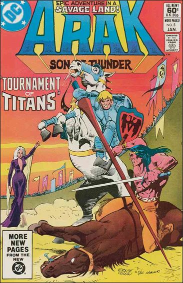 Arak Son of Thunder 5-A by DC