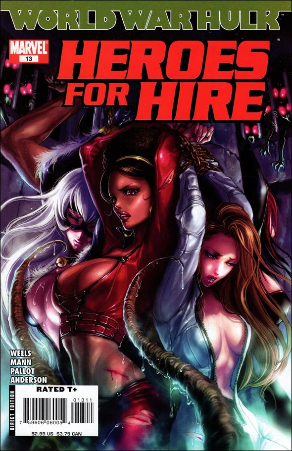 Heroes for Hire (2006) 13-A by Marvel
