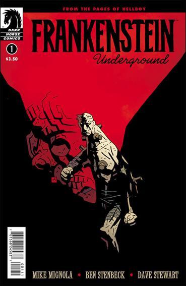 Frankenstein Underground 1-A by Dark Horse