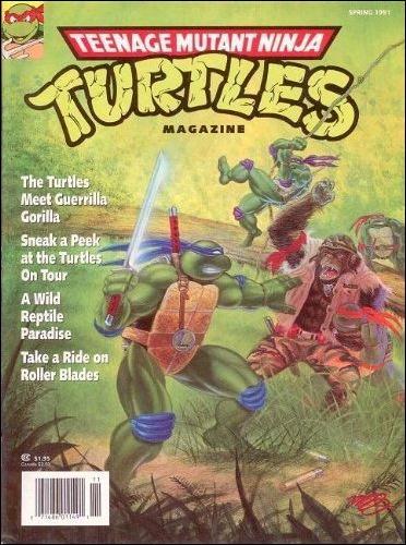 Teenage Mutant Ninja Turtles Magazine 3-A by Welsh Publishing Group