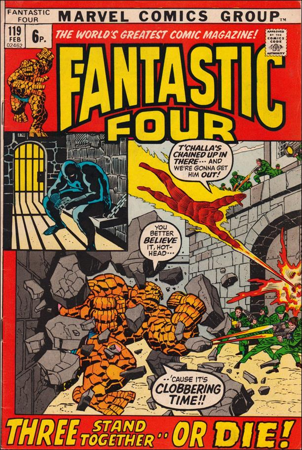 Fantastic Four (1961) 119-B by Marvel