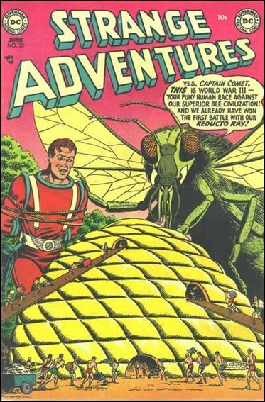 Strange Adventures (1950) 33-A by DC