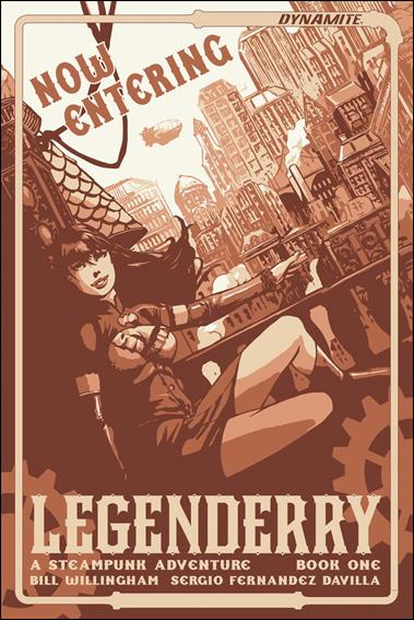 Legenderry: A Steampunk Adventure 1-D by Dynamite Entertainment