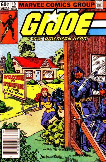 G.I. Joe: A Real American Hero 10-A by IDW