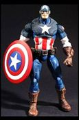 Marvel Legends (Series 8) Ultimate Captain America (Blue Pants) (Canada)